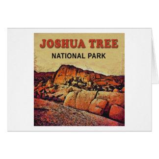 JOSHUA TREE National Park Greeting Card