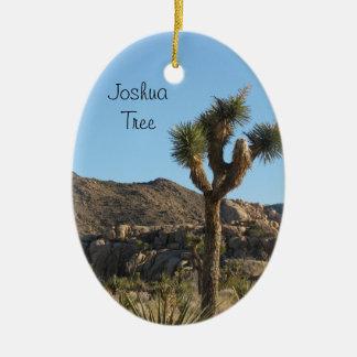 Joshua Tree National Park Ceramic Oval Decoration