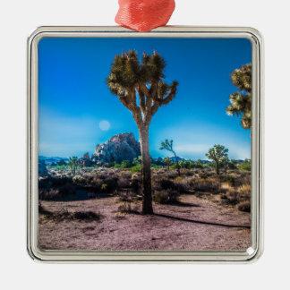 Joshua Tree National Park Metal Ornament