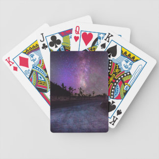 Joshua tree National Park milky way Bicycle Playing Cards