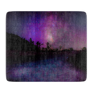 Joshua tree National Park milky way Cutting Board