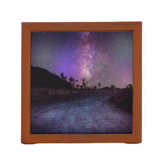Joshua tree National Park milky way Desk Organiser