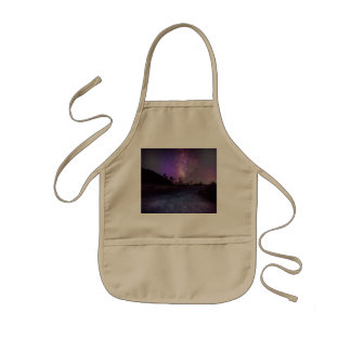 Joshua tree National Park milky way Kids Apron