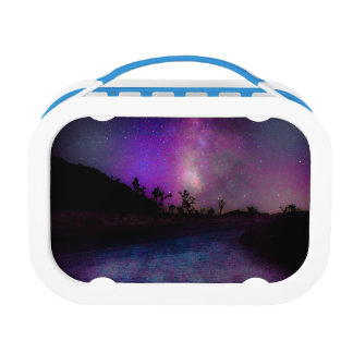 Joshua tree National Park milky way Lunch Boxes