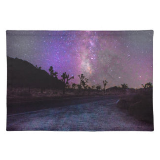 Joshua tree National Park milky way Placemat