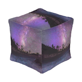 Joshua tree National Park milky way Pouf