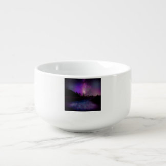 Joshua tree National Park milky way Soup Bowl With Handle