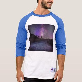 Joshua tree National Park milky way T-Shirt