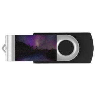 Joshua tree National Park milky way USB Flash Drive