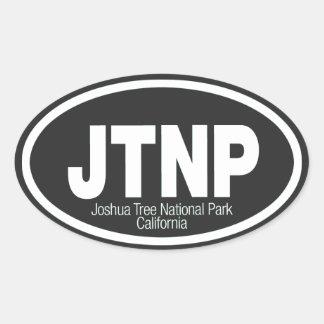 Joshua Tree National Park Oval Sticker