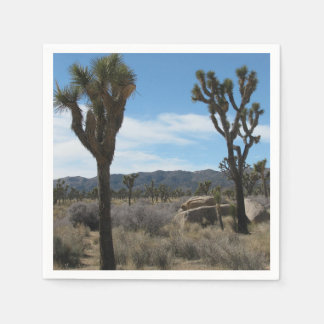 Joshua Tree National Park Paper Serviettes