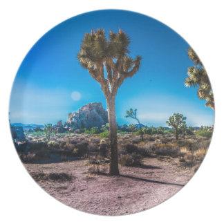 Joshua Tree National Park Party Plate