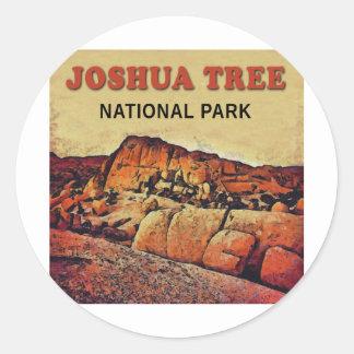 JOSHUA TREE National Park Classic Round Sticker