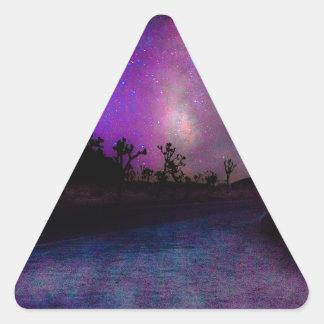 Joshua tree National Park Triangle Sticker