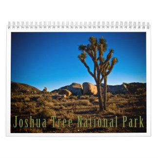 Joshua Tree National Park Wall Calendar