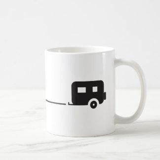 Joshua Tree Trailer Camping Coffee Mug