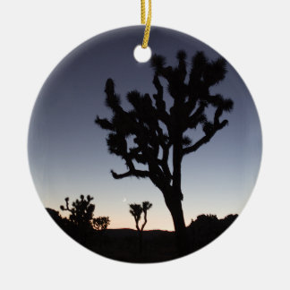 Joshua Tree Twilight Ceramic Ornament