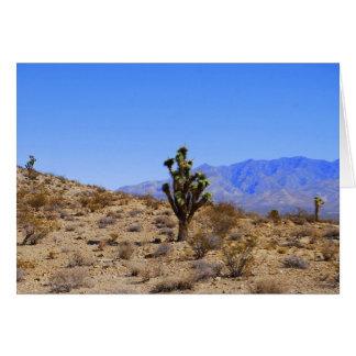 Joshua Trees, Mojave Desert, California Greeting Card