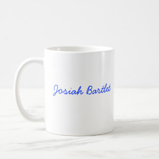 Josiah Bartlet Presidentail Mug