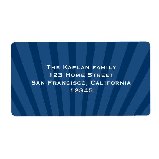 Josiah Return Address Label