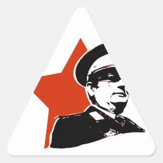 Josip Broz Tito Jugoslavija Triangle Sticker