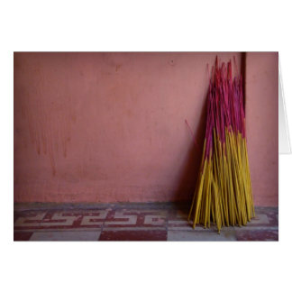 Joss Sticks Card