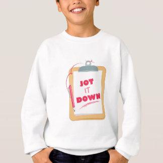 Jot It Down Sweatshirt