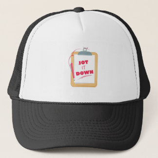Jot It Down Trucker Hat