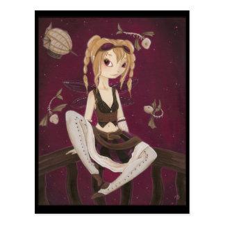 Jouney - Steam punk Fairy  Post Card