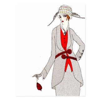 Journal des Dames et des Modes 1 Post Card