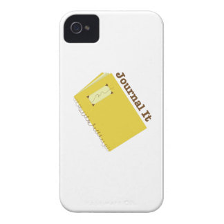 Journal It iPhone4 Case