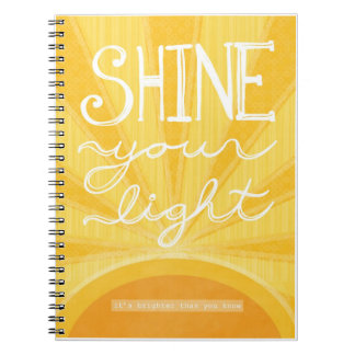 "Journal - ""Shine Your Light"""