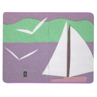 Journal with Sailboat Design