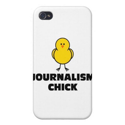 Journalism Chick iPhone 4 Covers