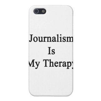 Journalism Is My Therapy iPhone 5 Cover