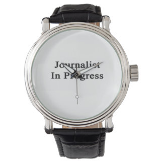 Journalist In Progress Watch