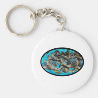 Journey By Sea Key Ring