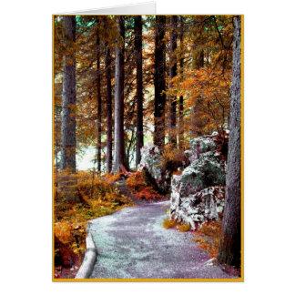 Journey Card, Text Inside Card