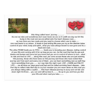 journey heart2heart postcard