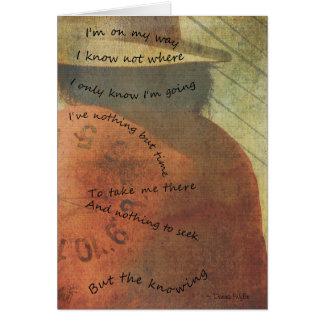 "Journey - ""I'm On My Way"" Card"
