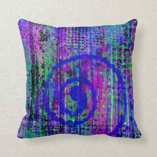Journey Into My Imagination Abstract Throw Pillows