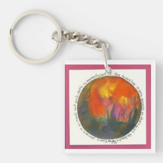 Journey Mandala Keychain
