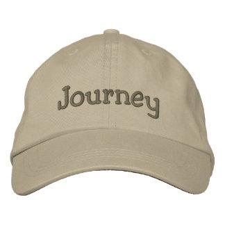 Journey Name Embroidered Baseball Cap Khaki