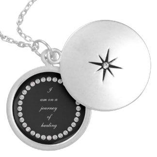 Journey of healing locket necklace