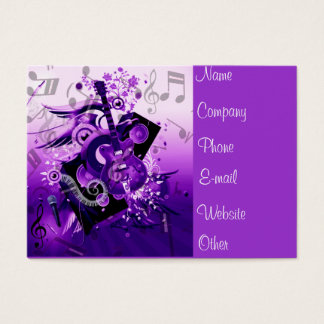 Journey of music_ business card