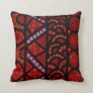 Journey Red Pillow Cushion