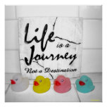 """""""Journey"""" Rubber Duck Poster"""