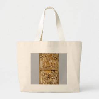 Journey to Emmaus and Noli Me Tangere Large Tote Bag