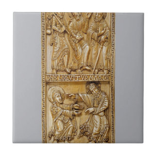 Journey to Emmaus and Noli Me Tangere Tile