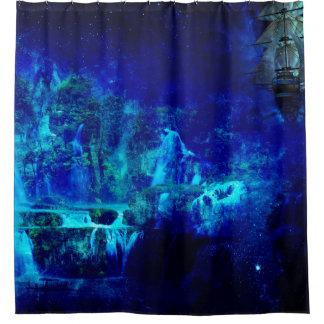 Journey to Neverland Shower Curtain